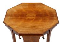 19th Century Rosewood Octagonal Centre or Window Table Occasional Side (2 of 6)