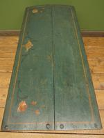 Antique Continental Painted Folk Art Coffer with Dome Top, Blanket Box (20 of 24)