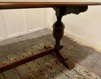 Good Quality Oak Refectory Dining Table (5 of 8)