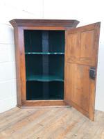 Early 19th Century Welsh Oak Panelled Corner Cupboard (3 of 7)