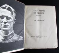 1937 Seven Pillars of Wisdom by T E Lawrence  with Original Dust Jacket (2 of 5)