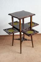 Very Unusual Late Victorian Mahogany Inlaid Tea / Supper Table (5 of 8)