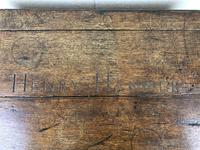 19th Century Oak Box Belonging to Henry Hanmer MP (8 of 14)