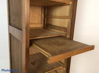 Antique French Tall Filing Cabinet Tambour Roller Shutter (2 of 10)