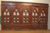 2 Lengths of 19th Century Gothic Arched Panelling (2 of 9)