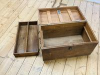 19th Century Oak Tool Chest (5 of 16)