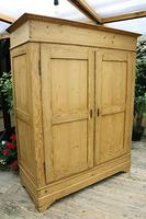 Big Old Victorian Pine Double Knock Down Wardrobe - We Deliver/ Assemble! (3 of 17)