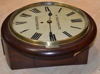 William Braithwaite Carnforth Fusee Dial Wall Clock (4 of 4)