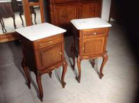 Pair of French Mahogany Bedside Cabinets (4 of 8)