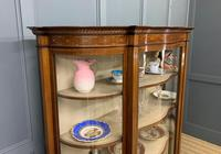 Maple & Co Inlaid Mahogany Display Cabinet (5 of 17)
