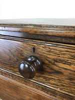 19th Century Antique Oak Chest of Drawers (3 of 12)