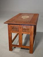 Beautifully Carved Late 19th Century Eastern Low Table (5 of 7)