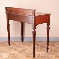 Edwardian Inlaid Mahogany 2 Drawer Side Table (13 of 15)