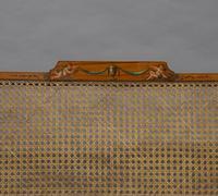 Fine 19th Century Satinwood Bergere Sofa (5 of 6)