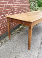 French Fruitwood Kitchen Dining Table (2 of 15)