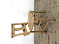 Set of Eight Antique Church Chairs (m-2068-8) (5 of 7)