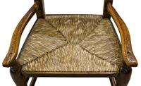 """19th Century Lancashire """"Wheatear"""" Spindleback Low Armchair (3 of 5)"""