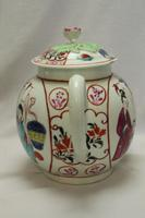 First Period Worcester Hand Painted Teapot (3 of 8)