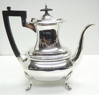 Impressive 5 Piece Silver Tea & Coffee Set Walker & Hall Sheffield 1917 (13 of 17)