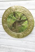 Arts & Crafts Movement Scottish / Glasgow School Circular Wall Mirror c.1900 (10 of 24)