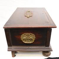 17th Century Portugese Casket Box - Walnut Jewellery Case (10 of 11)