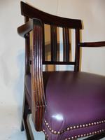 Scottish Georgian Mahogany Elbow Chair (3 of 6)