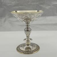 George V Sterling Silver Tazza London 1928 Theodore Rossi (10 of 10)
