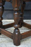 Lovely 19th Century Oak Joint Stool c.1800-1850 (6 of 10)