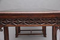 19th Century French Oak Desk in the Gothic Style (15 of 17)