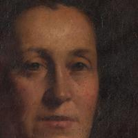 19th-Century French School Portrait Of A Lady, Oil Painting (6 of 7)