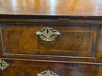 George I Walnut Bureau Bookcase (6 of 9)