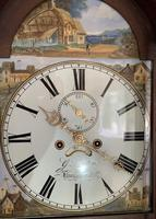 Mahogany Eight Day Victorial Longcase Clock (4 of 11)