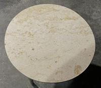 French Round Marble Top Coffee Table (2 of 15)