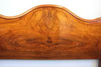 Antique Figured Walnut Double Bed. (4 of 17)