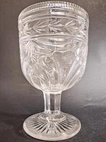 Large 19th Century Cut Glass Vase (4 of 5)