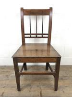 Pair of 19th Century Welsh Oak Farmhouse Chairs (3 of 11)