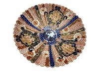Antique Oriental Imari Porcelain Pedestal Dish c.1870 (3 of 8)