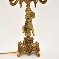 Antique French Gilt Metal Cherub Lamp (9 of 9)