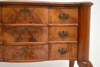 Antique Burr Walnut Lowboy Side Table (3 of 9)