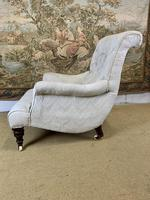Beautifully Shaped English Armchair (3 of 6)