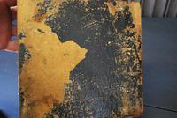 Antique Religious Walnut & Brass Box (6 of 6)