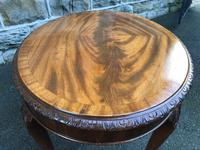 Antique Mahogany Coffee Table (5 of 5)