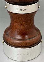 Fine George V Silver Mounted Pepper Grinder (5 of 5)