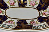 19th Century Stevenson & Hancock Derby Rounded Rectangular Dish (2 of 7)