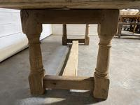 Large French Oak Rustic Farmhouse Dining Table (11 of 20)