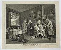 William Hogarth, Marriage-A-La-Mode, Plate 6, Engraved 1745, Original print (6 of 6)