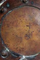 Brass Helmet Coal Scuttle on Lions Paw Feet / Log Bin (11 of 13)