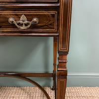 Spectacular Quality Victorian Rosewood Inlaid Antique Writing Desk (7 of 12)