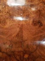 Superb Antique Burr Walnut Drop Leaf Coffee Table (3 of 6)