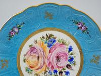 Vintage German Porcelain Plates / Chargers Bavarian /Set of Three (10 of 32)